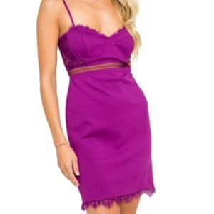 ASTR Dream on Lace Dress Size Medium